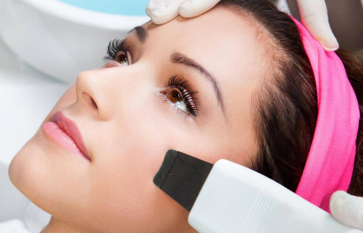 Express facial cleaning